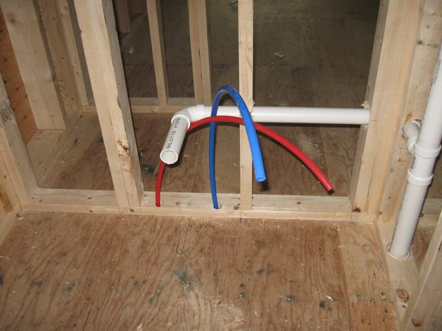 Plumbing nothing happens at ten for Is pex pipe better than copper